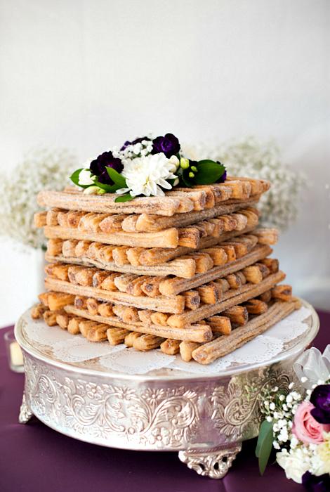 Свадебный десерт из испанских чуррос.