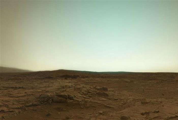 Реальные цвета Марса.