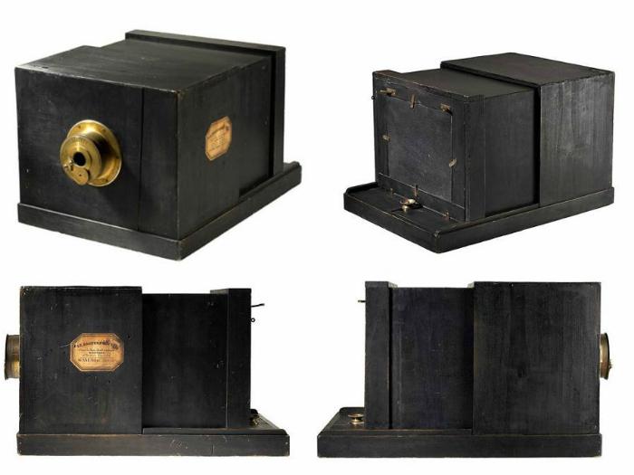 Цена: 775,000$. Самая дорогая и старейшая камера, спроектированная Луи Дагером в 1893г.