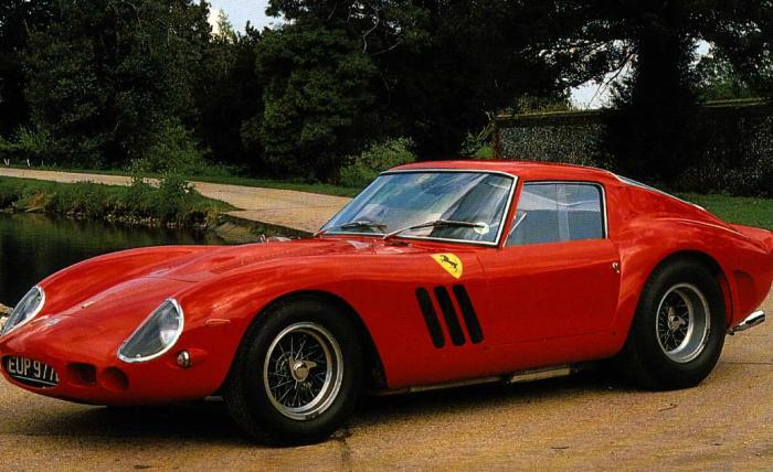 Цена: миллионов. Всего Ferrari выпустила 39 экземпляров 250 GTO, и большая их часть осела в частных коллекциях.