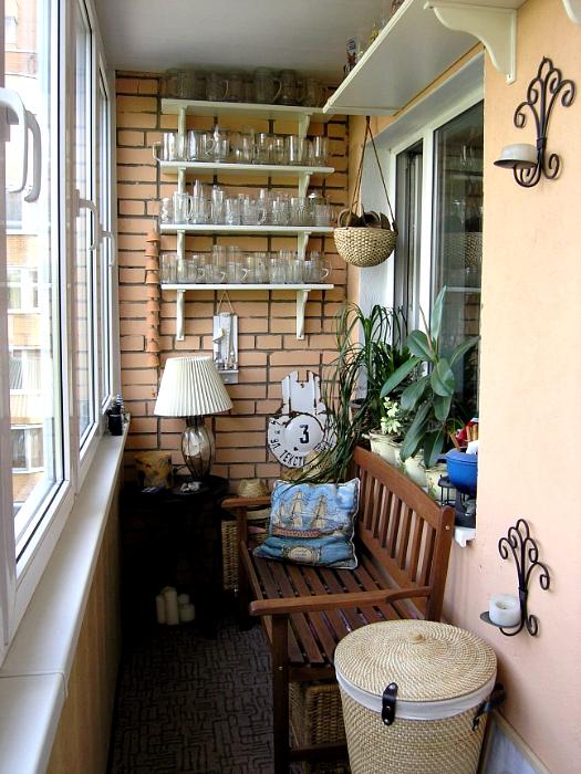 Идеи на балкон своими руками