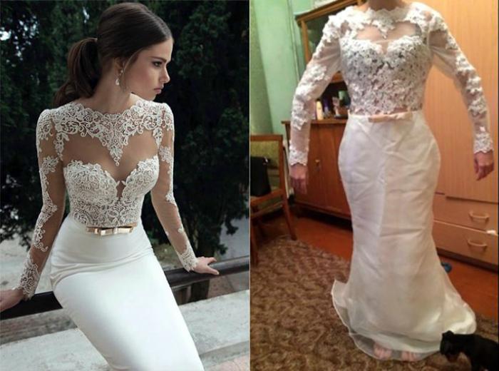 Утонченный стиль и элегантность - не об этом платье...