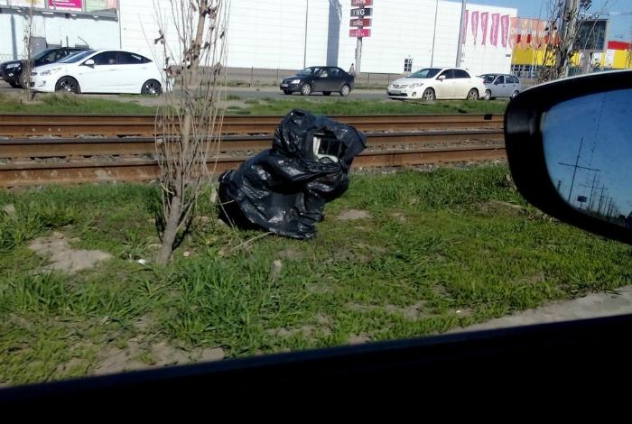 С виду – обыкновенный мешок с мусором, а внутри сюрприз – видеофиксатор.
