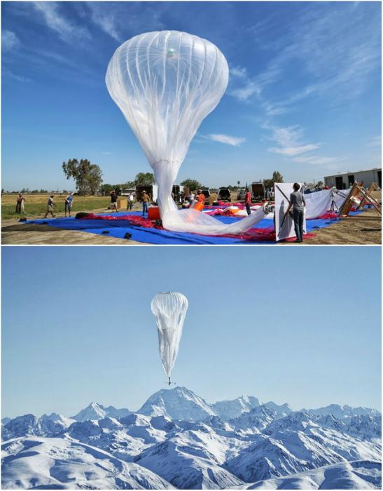 Новый амбициозный проект от лаборатории Google X, в ходе которого предусматривается запуск огромного числа гигантских воздушных шаров для создания интернет-покрытия в самых отдалённых и неразвитых регионах Земли.