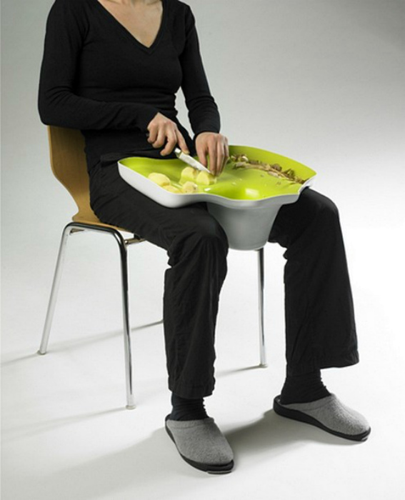 Поднос для чистки овощей. | Фото: 4Living.ru.