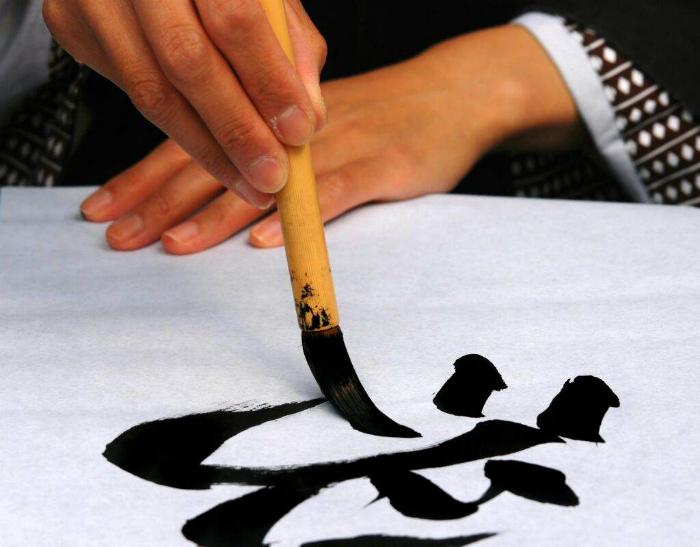 Особенности японского письма.