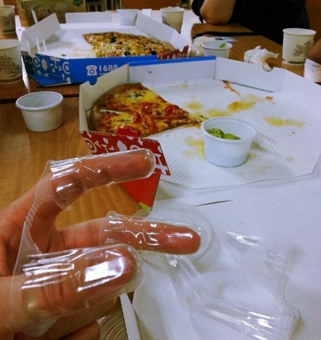 Перчатки на пальчики. | Фото: Fishki.net.