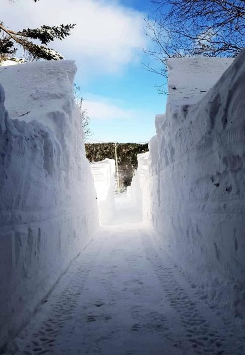 Снежные стены. | Фото: ЯПлакалъ.