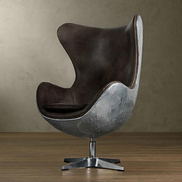 Кресло яйцо в стиле лофт.