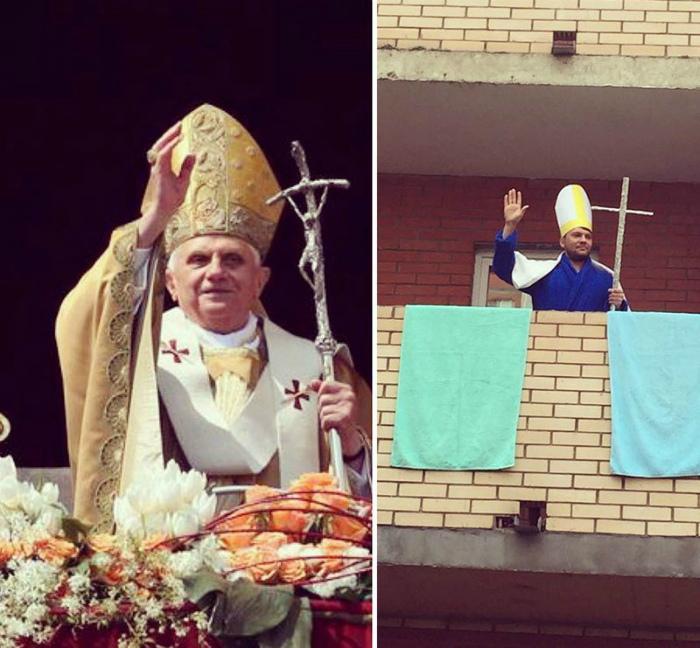 Папа русский.