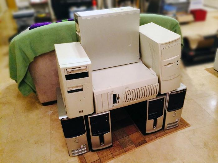 Кресло программиста.