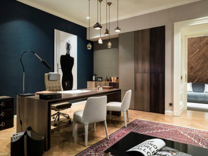Офис в современном стиле.
