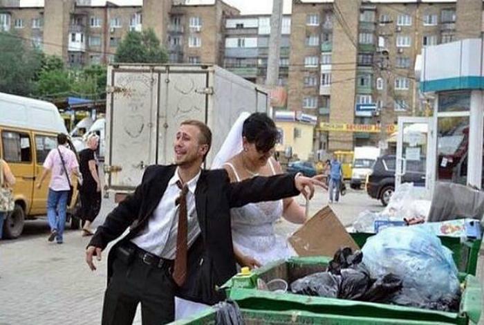 Свадебный фуршет. | Фото: Одноклассники.