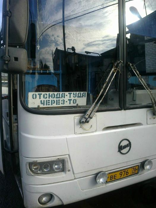 Похоже, этот автобус только для местных жителей. | Фото: Pinterest.