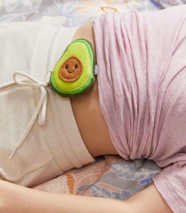 Миниатюрная грелка «Авокадо». | Фото: BEST - Все самое лучшееiDomus в сети.