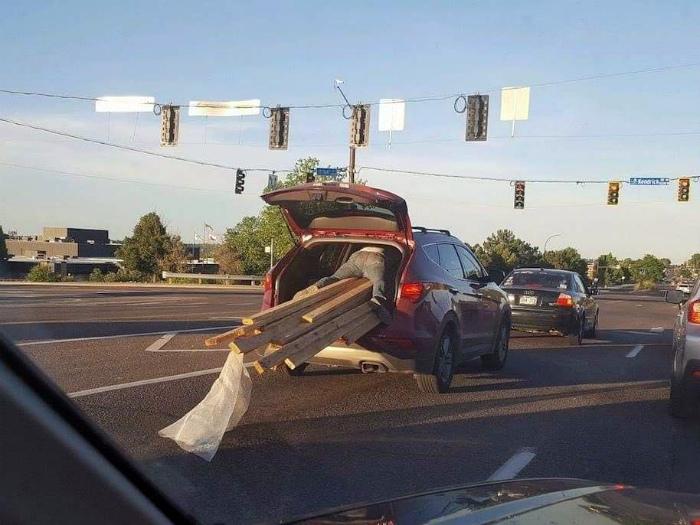 «Умру, но довезу!» | Фото: Reddit.
