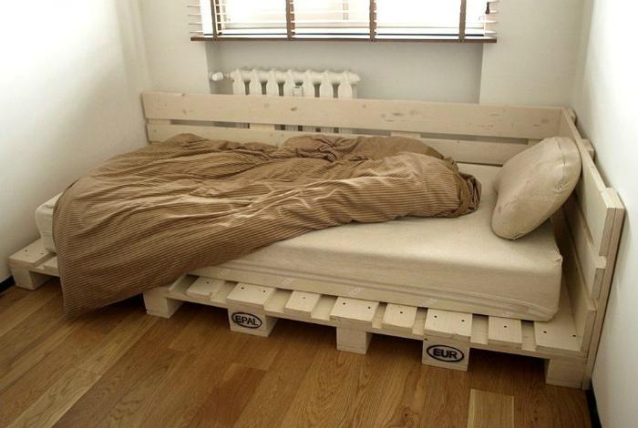 Стильная односпальная кровать. | Фото: Fishki.