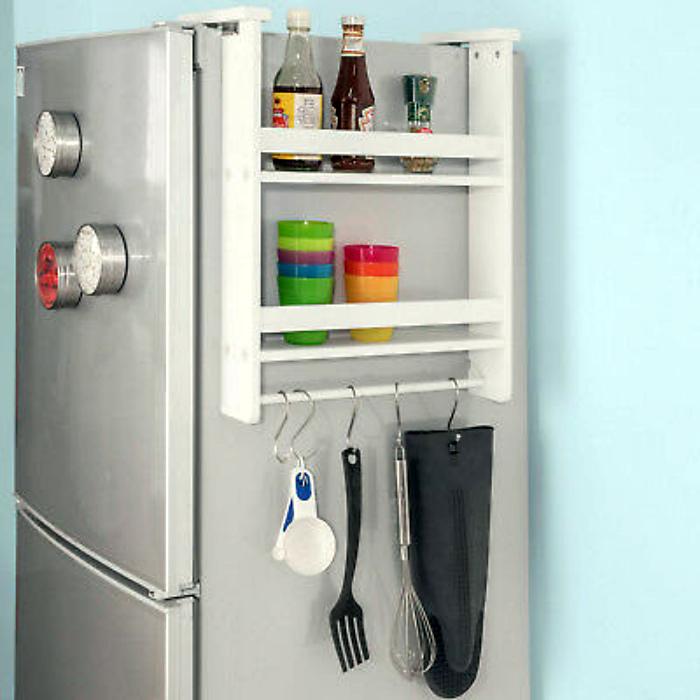 Подвесная полка на холодильник. | Фото: PicClick UK.