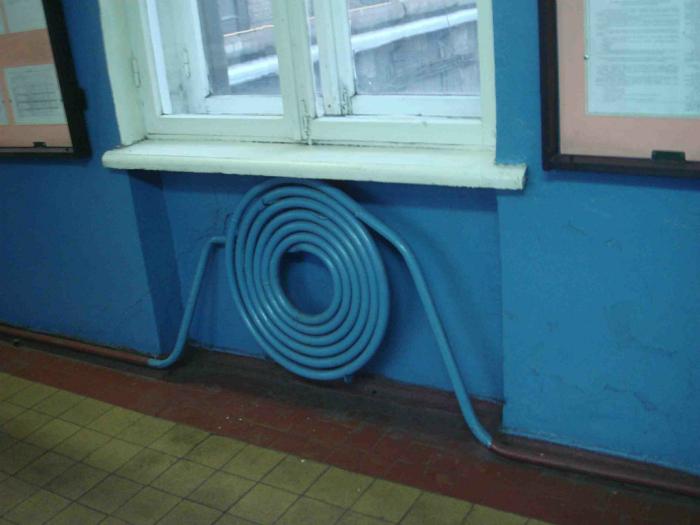 Новый взгляд на скучную форму радиатора.