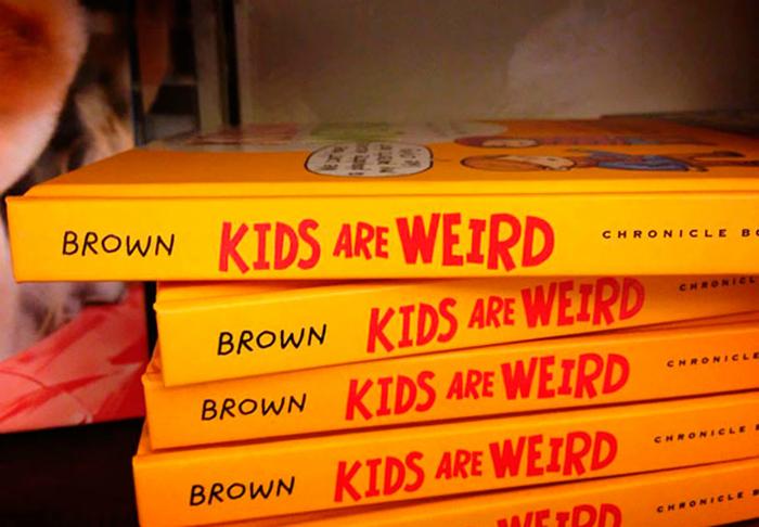 «Коричневые дети странные». Нет, синие дети - странные, а коричневые - ничего, нормальные.