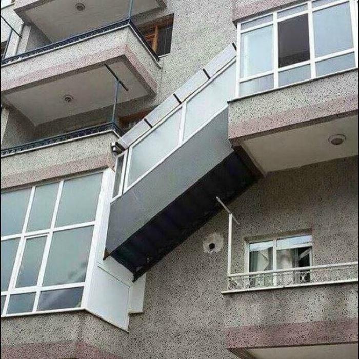 «А квартира-то оказалась на этаж ниже...»