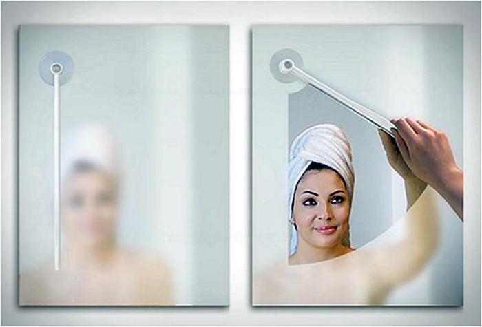 Волшебная палочка для чистки зеркала.