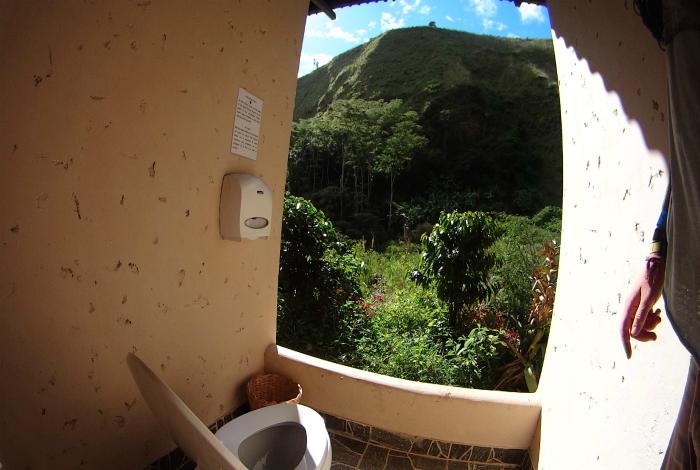 Туалет в Перу.