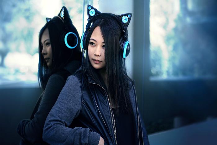 Уникальные наушники Axent Wear Cat Ear, имитирующие кошачьи ушки.