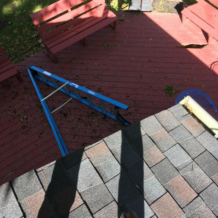 «Пока-пока, лестница!»   Фото: BuzzFeed.