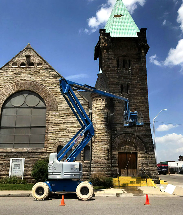 Преображение церкви в Детройте. | Фото: Onedio.