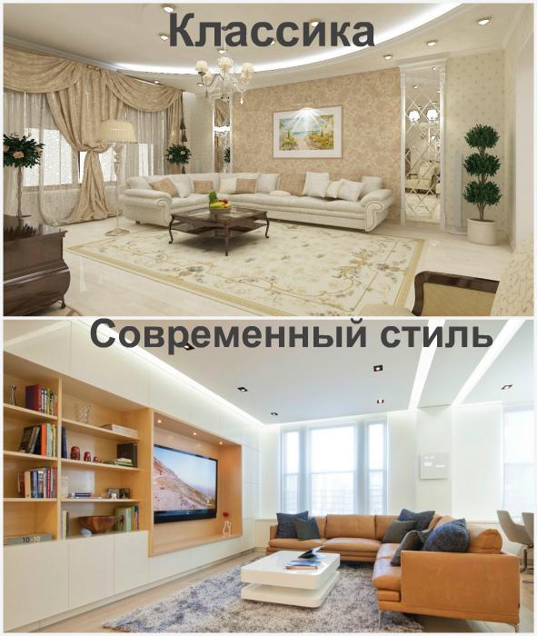 Стиль квартиры и каждой комнаты отдельно.