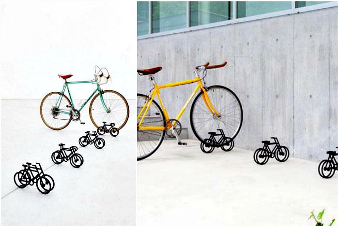 Парковка для велосипедов от дизайнера Юма Кано.