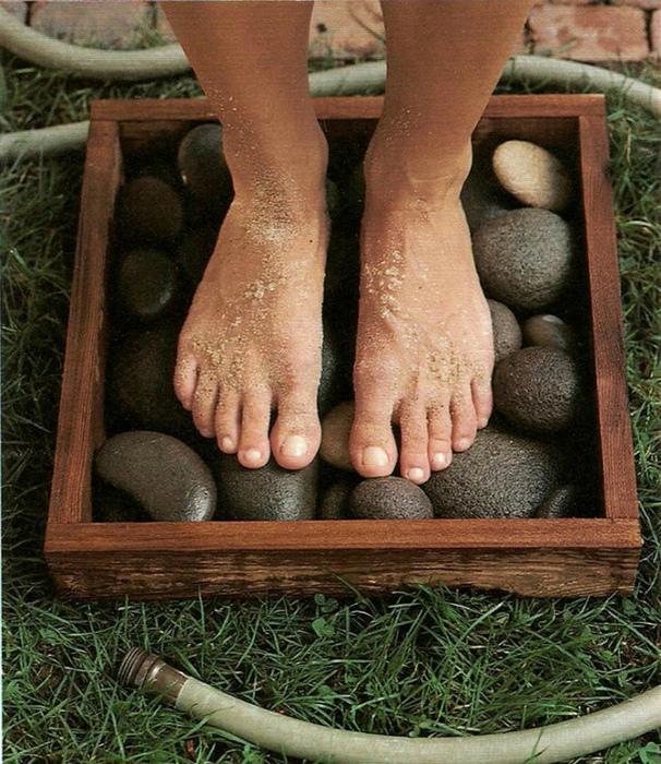 Поддон для мытья ног.