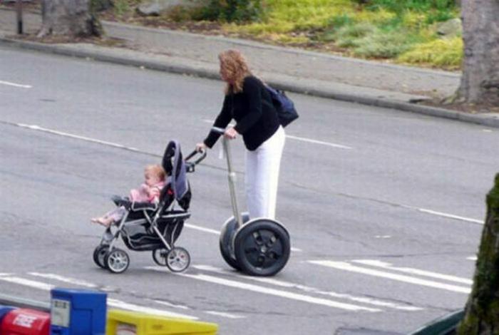 Семейство на колесах. | Фото: Сайт веселого настроения.