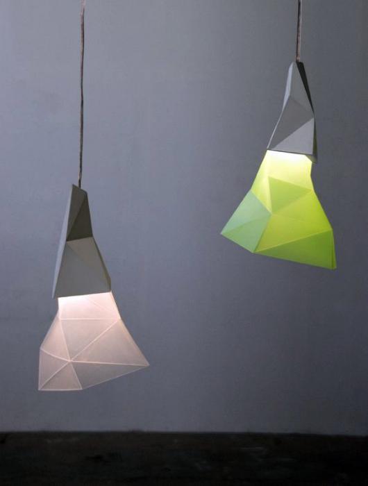 Бумажные светильники от To Do.