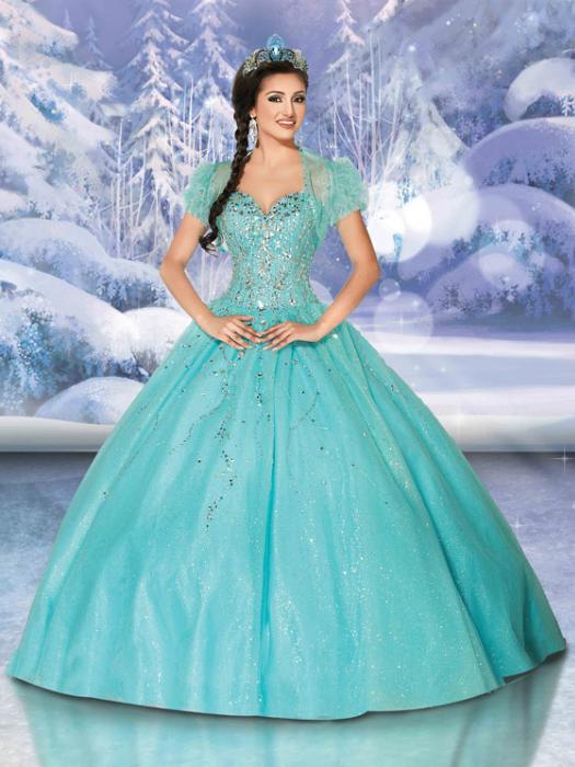 Современное платье для принцессы