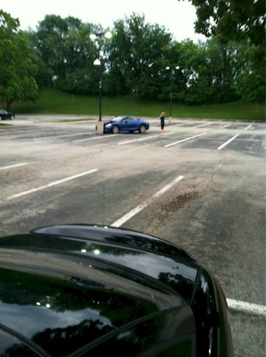 Искусная парковка.