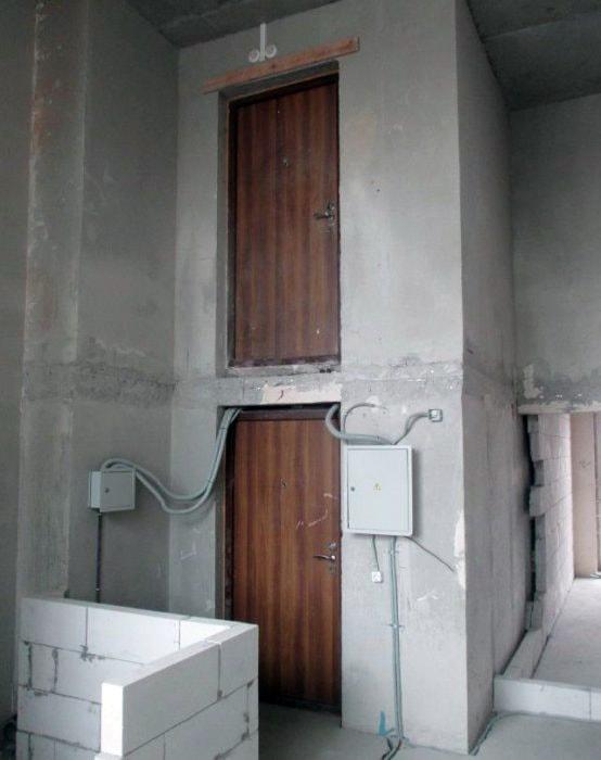Квартиры по вертикале.