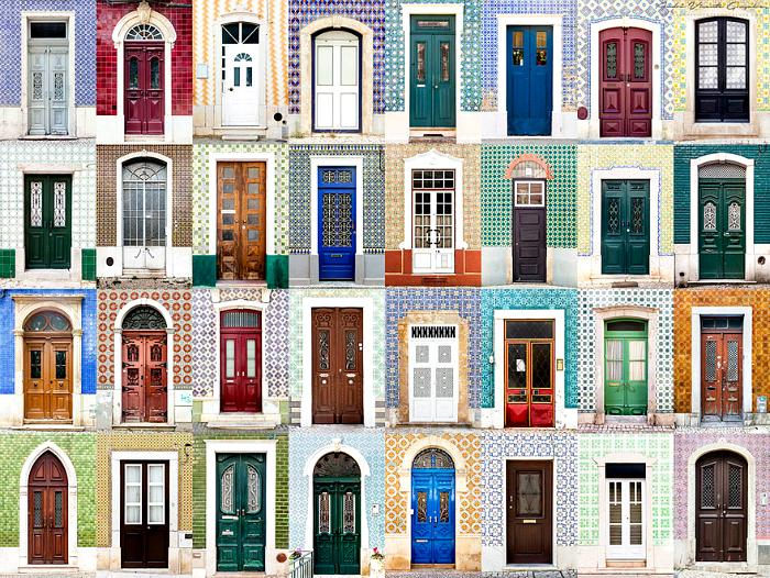 Входные двери Португалии.