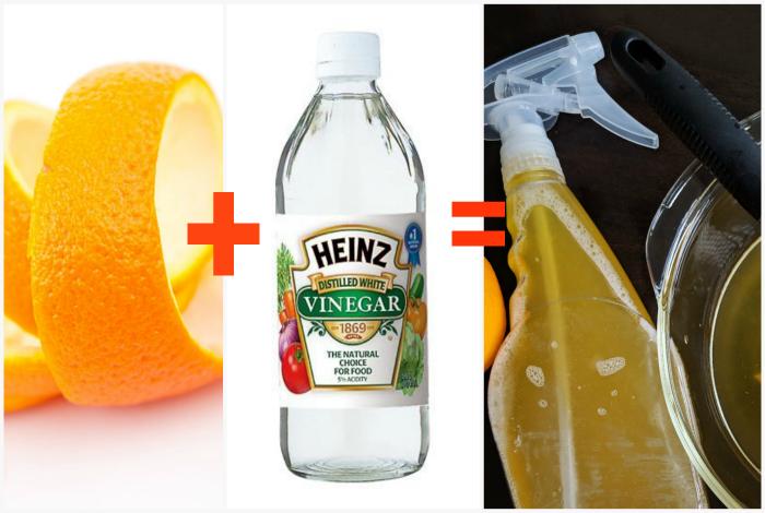 Моющее средство из апельсиновой цедры.