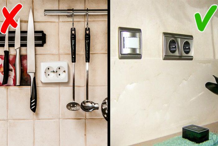 Дешевые розетки и выключатели. | Фото: RoomIdea.