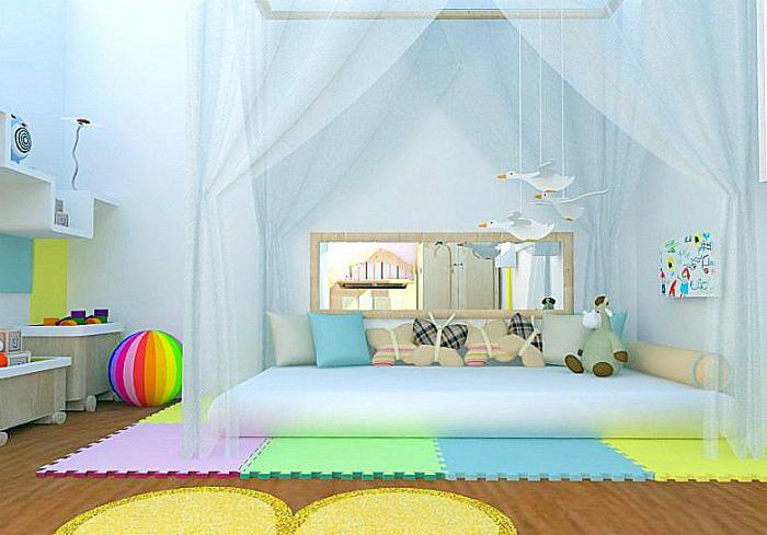 Уютное место для сна и игр.