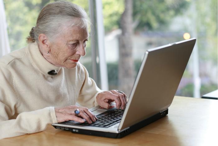 Бабушка блогер.