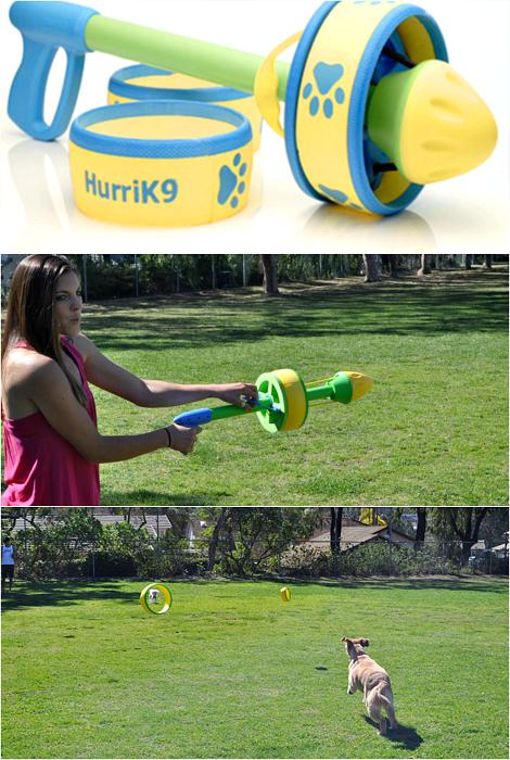 Пусковое устройство с кольцами HurriK9 Ring Launcher.