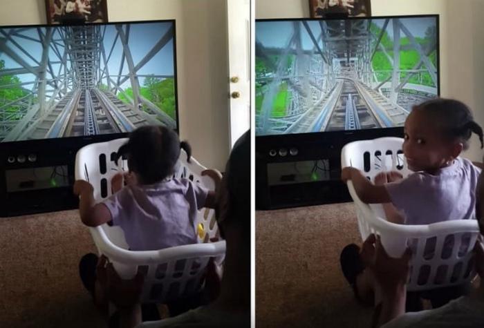 Виртуальная реальность для дочки.