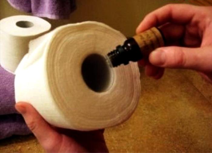 Приятный запах в туалете.