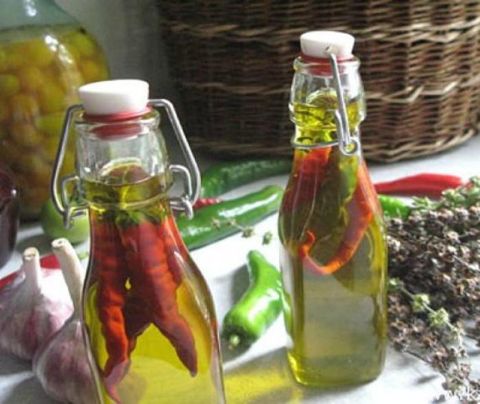 Оливковое масло с добавками. | Фото: LiveInternet.