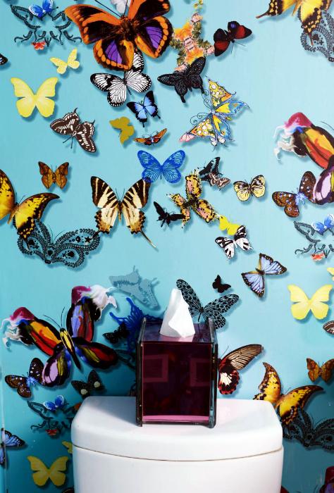 Обои с бабочками.