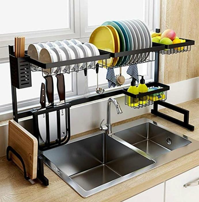 Подставка для посуды. | Фото: Elite Readers.