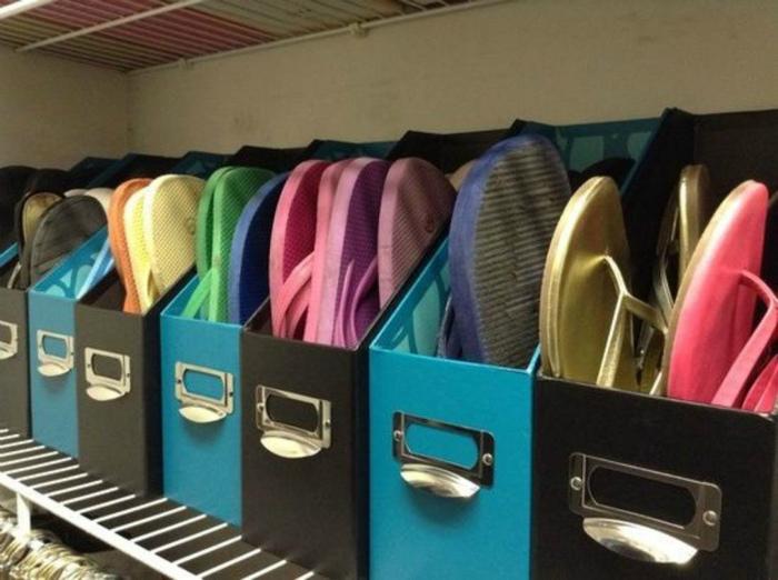 Хранение пляжной обуви. | Фото: Wi-Fi.ru.